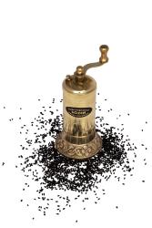 Sozen - SOZEN BRASS BLACK CUMIN SUSAME GRINDER 11 CM / 4 IN