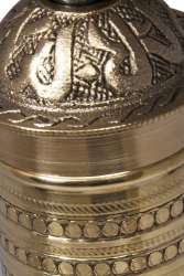 SOZEN BRASS COFFEE GRINDER 19 CM / 8 IN HANDHAMMERED - Thumbnail