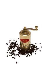 Sozen - SOZEN BRASS MINI PEPPER GRINDER MILL 9 CM / 3.60 IN