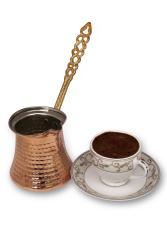 Sozen - SOZEN COPPER COFFEE MAKER POT FOR 4 CUPS