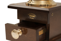 SOZEN WOODEN BOX COFFEE GRINDER MILL - BROWN - Thumbnail