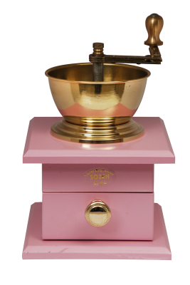 Sozen - SOZEN WOODEN BOX COFFEE GRINDER - PINK