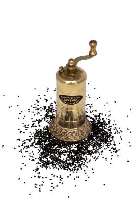 SOZEN BRASS BLACK CUMIN SUSAME GRINDER 11 CM / 4 IN