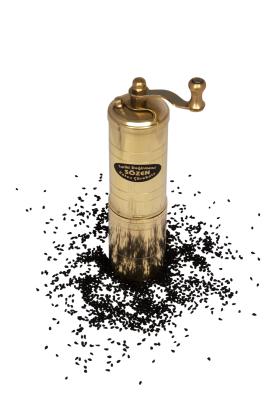Sozen - SOZEN BRASS BLACK CUMIN SUSAME GRINDER 15 CM / 6 IN