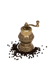 Sozen - SOZEN BRASS PEPPER GRINDER MILL 12 CM / 5 IN