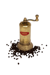 Sozen - SOZEN BRASS PEPPER GRINDER MILL 12 CM / 5 IN PLAIN
