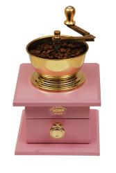 SOZEN WOODEN BOX COFFEE GRINDER - PINK - Thumbnail