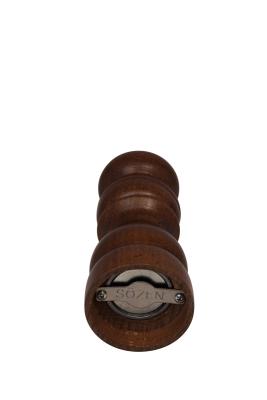 SOZEN WOODEN PEPPER GRINDER MILL 15 CM / 6 IN